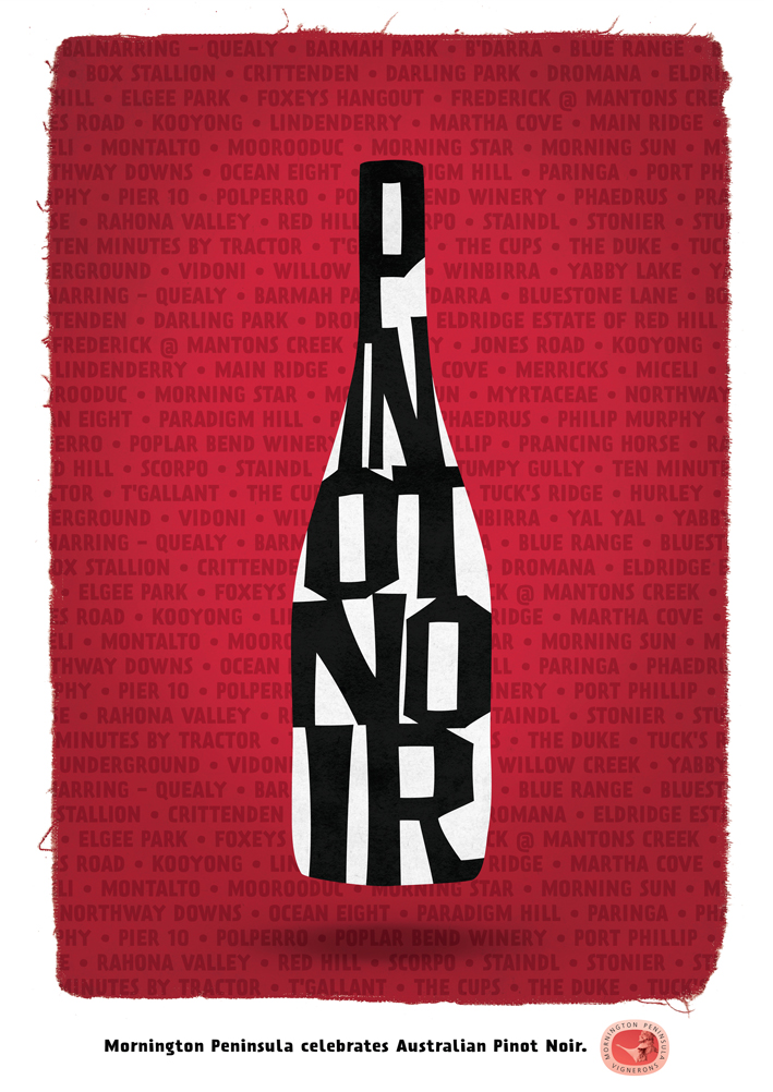 Mornington Peninsula Pinot Poster